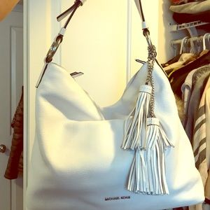 Michael kors leather bag - make an offer